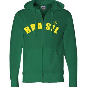 HoodedSweatshirt_green_BRASIL_front